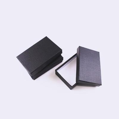 Magnet Opening Flap Black Matt Lamination Cardboard Paper Insert Wallet Packaging Gift Box