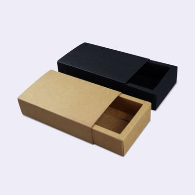 Customized Paper drawer Gift Box Empty Storage Box Kraft Paper Gift Box